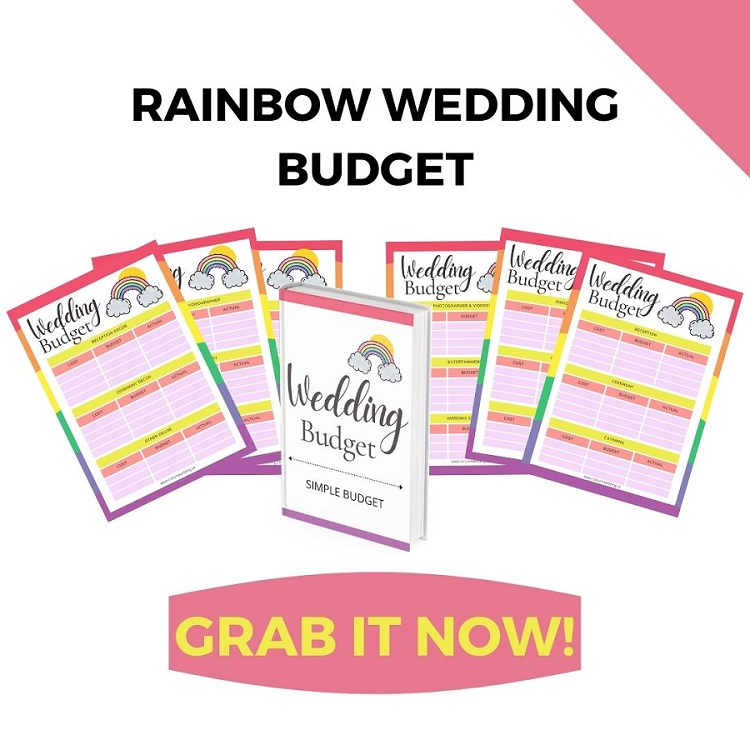 Here is a wedding budget printable you can use to plan your wedding on a budget today! Use this to budget your wedding today and save money.
