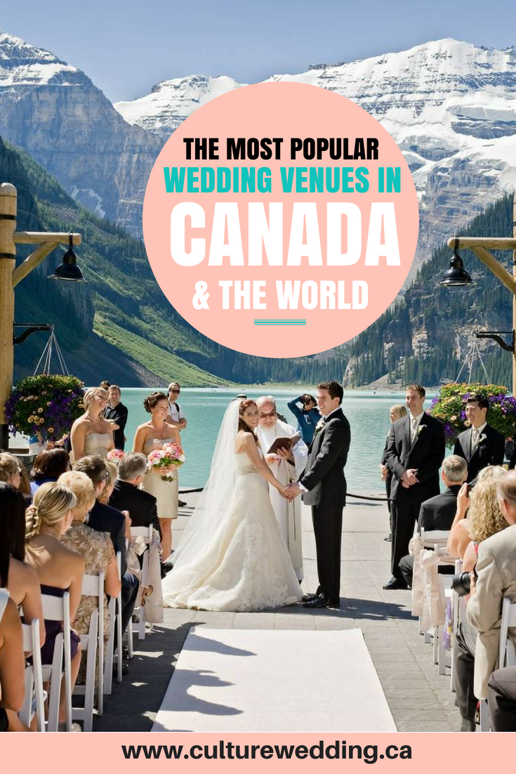 The best wedding venues in the World. Find the best places to get married in Canada. We have rounded up the best wedding venues in Canada #weddingvenues #weddingsincanada