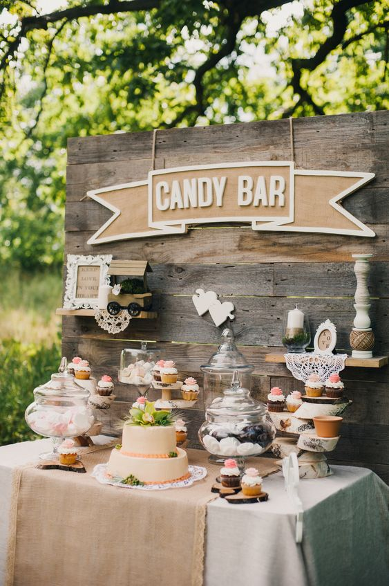 candy bar for your wedding. Here is a list of creative wedding bar ideas you can use to set up your wedding. Wedding decoration ideas that will wow your wedding guests. Here is a list of the best food reception stations you can set up to entertain your wedding guests. Unique Wedding station ideas for your reception. #Weddingstation #weddingbarideas #weddingideas