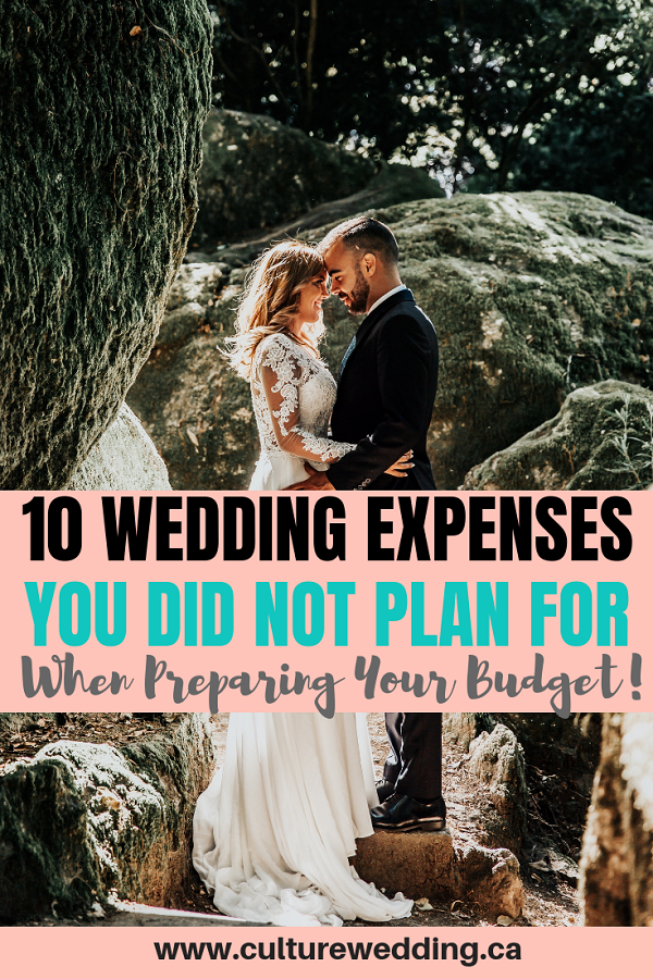 Looking for a breakdown of wedding expenses to expect? Weddings can be expensive. Without a proper wedding budget you need to be aware of unexpected wedding expenses you need to know about #weddingexpenses #weddingbudget #weddingspreadsheet