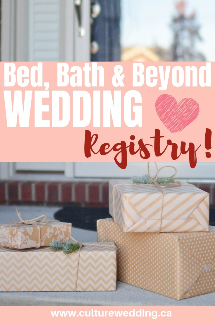 bed bath & beyond wedding registry ideas for your big day! Here are a few good reasons why you should register with bed bath and beyond for your wedding registry today! #weddingregistry #weddinggifts