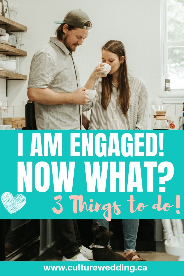 I am engaged, now what. Tips to plan the perfect wedding. Wedding planning tips to follow #weddingplanning #engaged