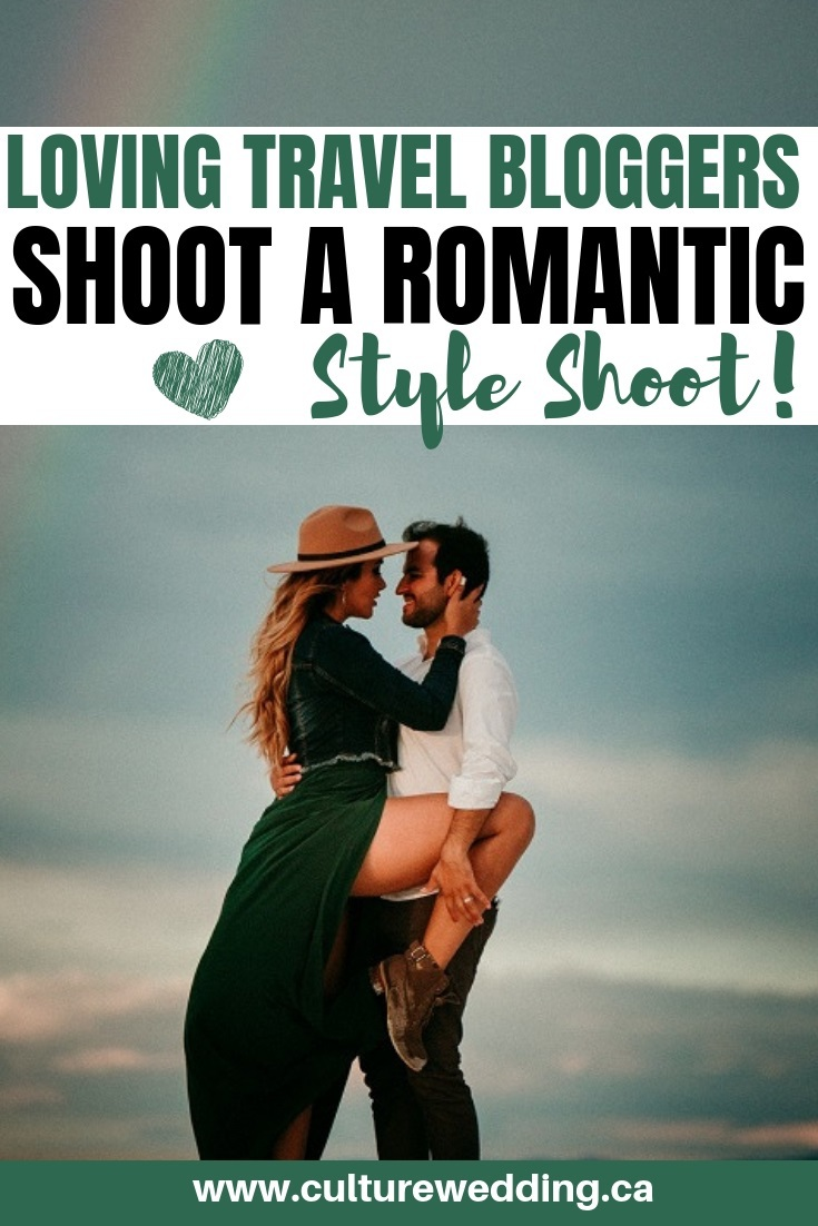 Loving this travel blogger style. These travel bloggers shoot a romantic style shoot in New Mexico #travelblogger