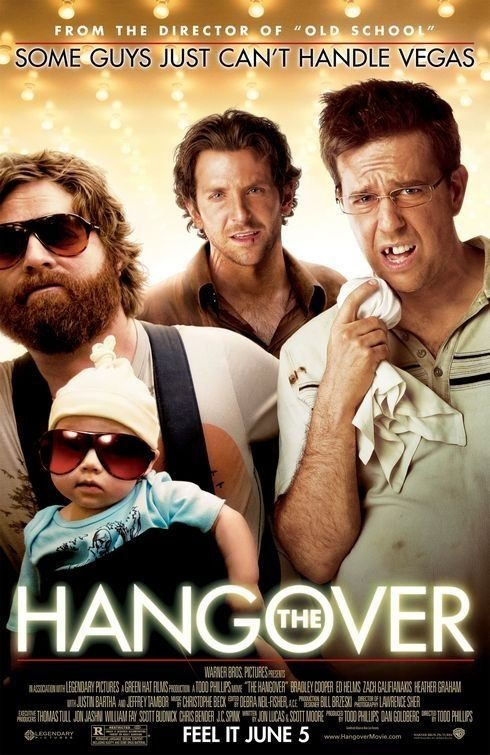 The hangover, the best wedding movie