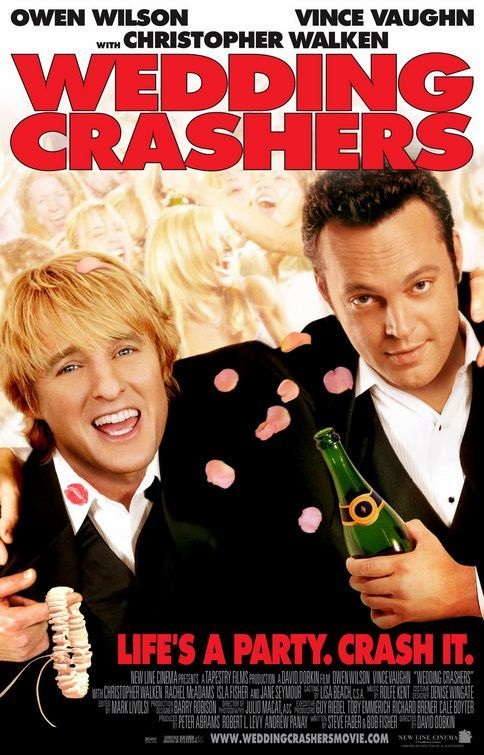 The wedding crashers - wedding movie #weddingmovies