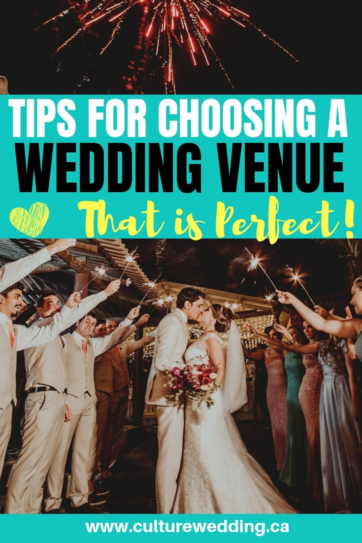 Choosing a wedding venue, tips that you must follow. Here is everything you need to know about finding the perfect wedding venue for your big day! #weddingvenues #weddingtips