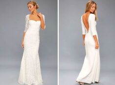 Shop Lulu's Wedding Dresses. Find simple affordable wedding dresses with Lulu's #weddingdresses #laceweddingdress #cheapweddingdress