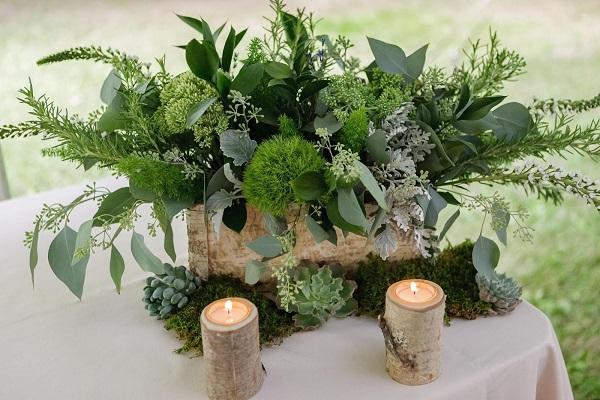 simple diy wedding centerpieces