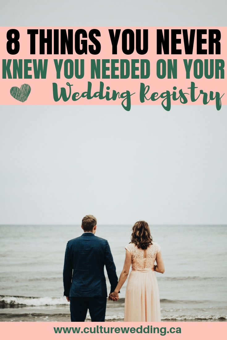 Not sure what to add to your wedding registry? We have a list of amazing things you can add to your wedding registry! What should be on your wedding registry? Find out now #weddingseason #weddingregistry #weddinggifts