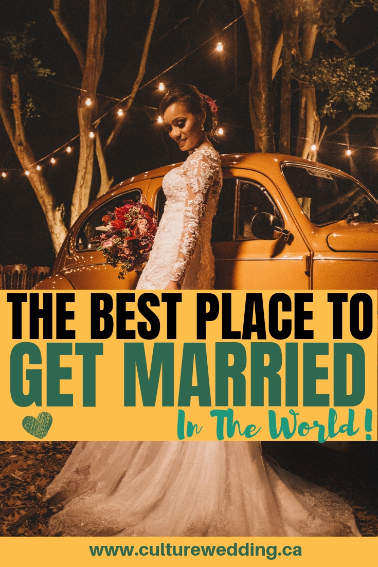If you are looking for unique places to get married, we have a beautiful list of destination wedding locations to look out for! The offer amazing views so you need little to decorate! #Destinationwedding #getmarried
