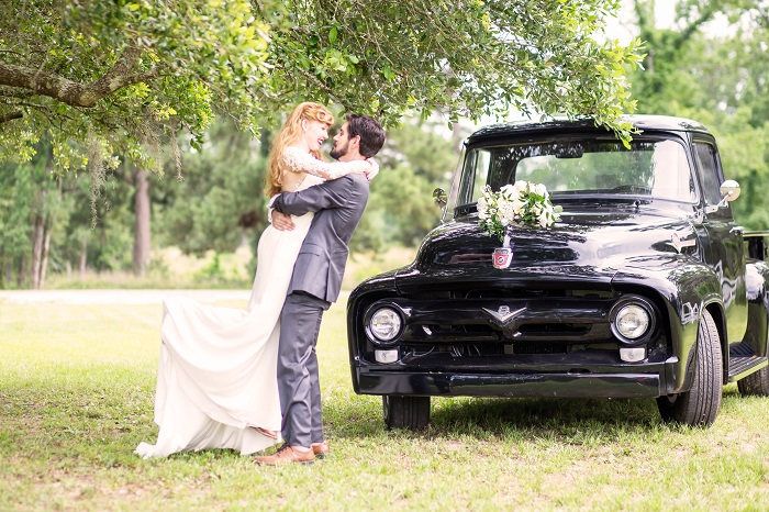 A Romantic Notebook inspired wedding styled shoot