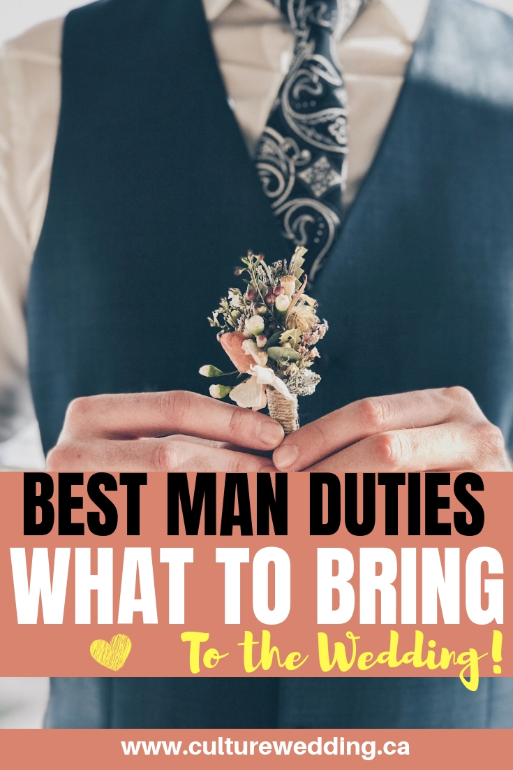 Here are a few duties that you need to know about for the best man. Responsibilities of the best man that will help the groom! #weddingduties #weddingplanning