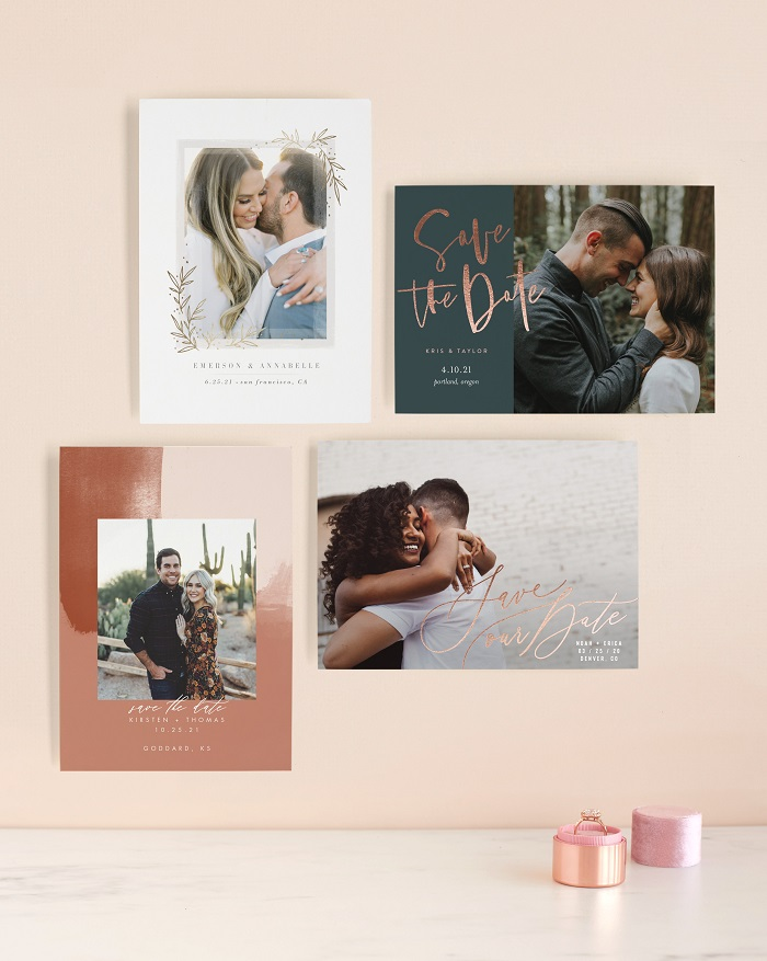 new save the date assortment by minted. Here is when to send out your save the dates for your wedding #savethedates #weddinginvitations