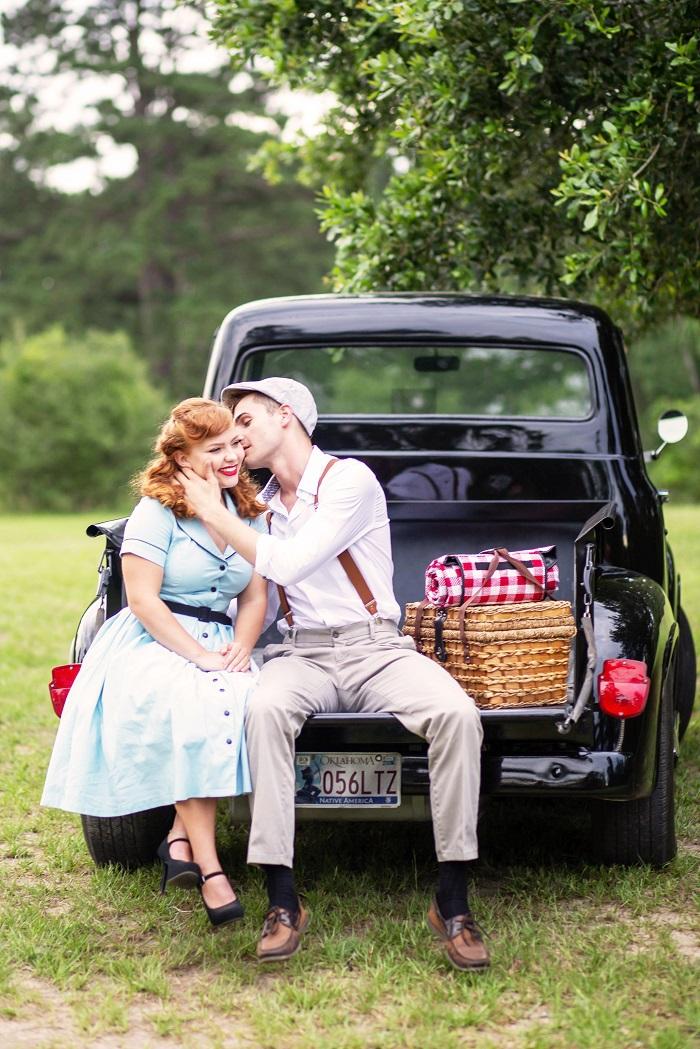 Romantic styleshoot