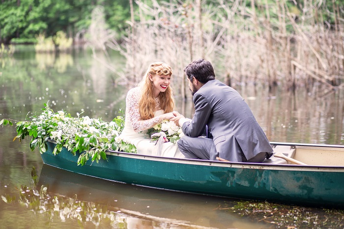 Romantic Styled shoot inspired by the Notebook