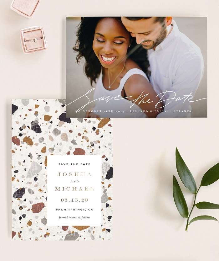 Details about why you should send out your save the dates and your wedding invitations. Learn more today! #weddinginvitations #savethedates