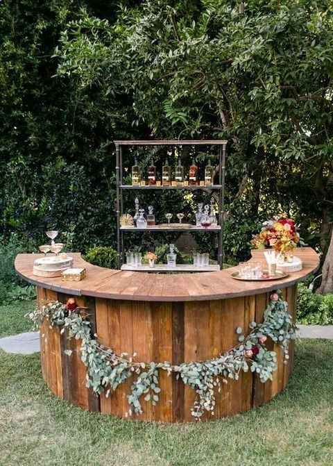 Gorgeous backyard bar ideas.