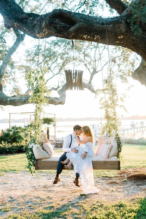 Gorgeous backyard wedding!