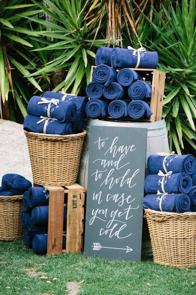 Wedding accessories for your backyard wedding!