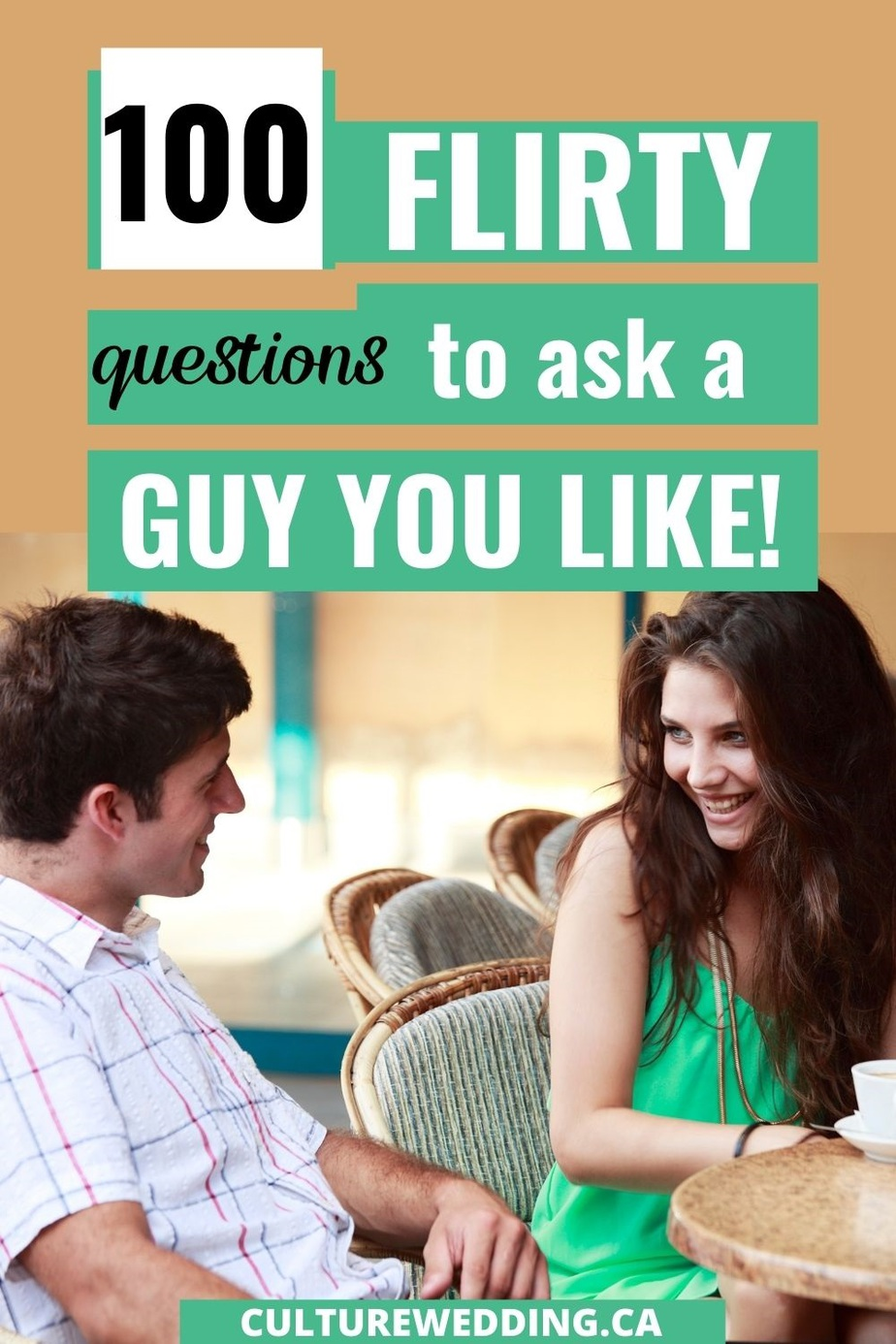 Fun, dirty and Flirty Questions to Ask a Guy: 100 Fun Flirty Questions for Him! Get to know your guy by asking him these flirty questions today! a collection of 100 flirty questions for him. Great icebreakers, too. flirty ideas | dating tips | relationship advice | how to flirt | questions to ask a guy