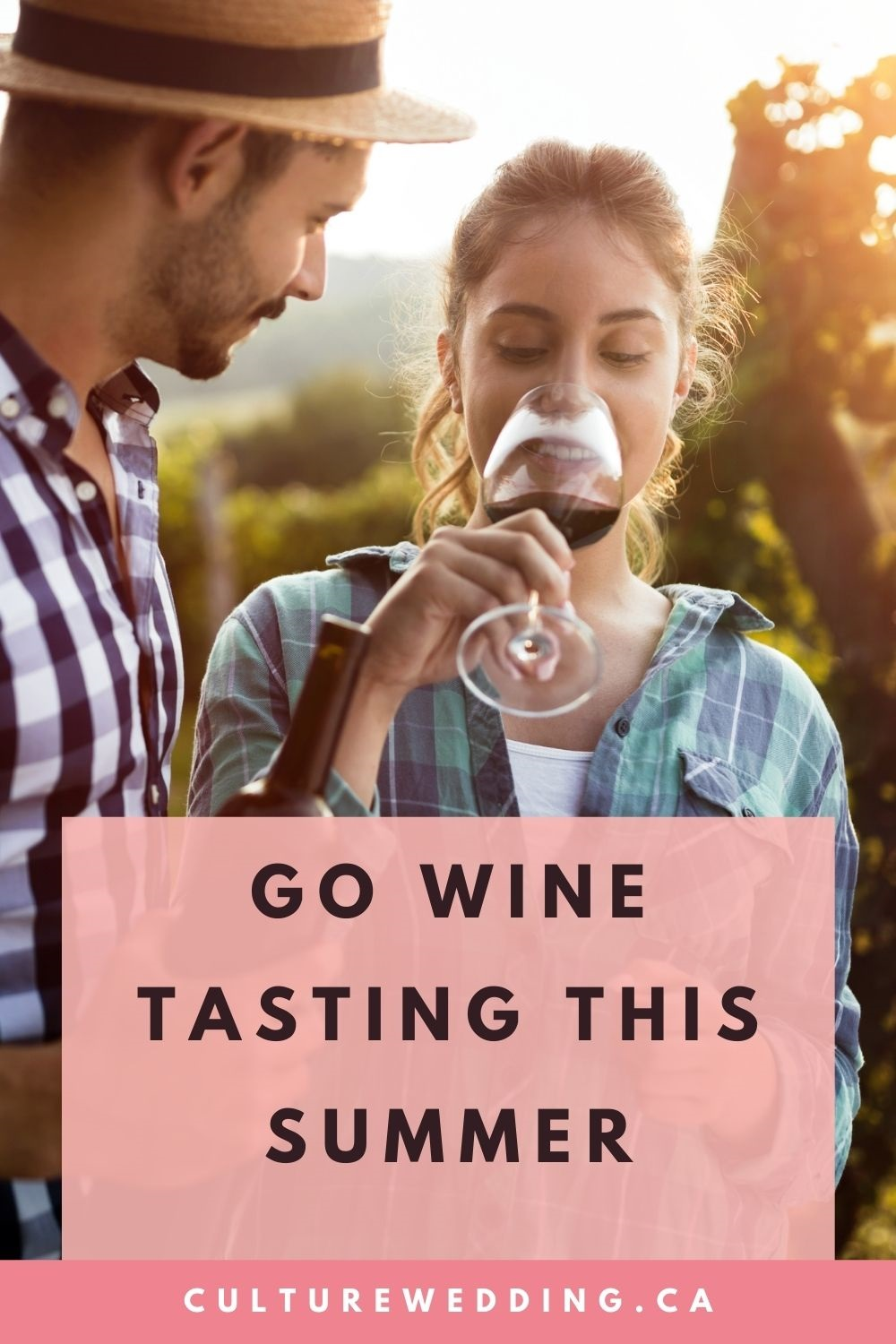 Put wine tasking on your couples bucket list idea this year. Make a bucket list for couples and complete it.