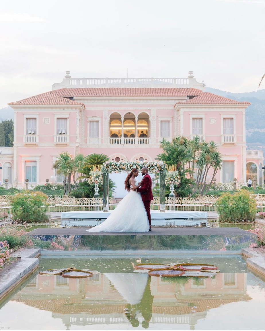 The Insecure actress married longtime boyfriend Louis Diame in the South of France on Sunday, July 25! Issa Rae Appears To Have Married Louis Diame, Reveals Stunning Wedding Photos