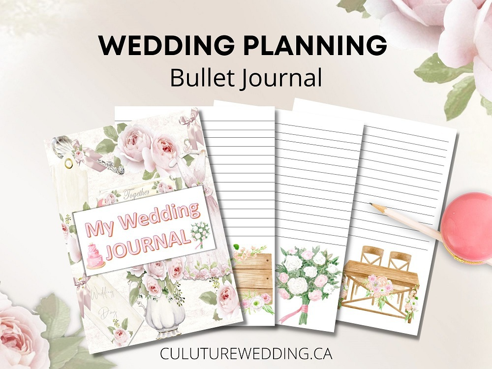 Wedding planning in your bullet journal - grab yours today. Bullet Journal Spreads To Inspire Your Wedding Planning   Weddingbells This is the craze that's about to take the wedding world by storm.